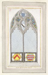 Echingham Church, Chancel Window f. 62 (no. 111)